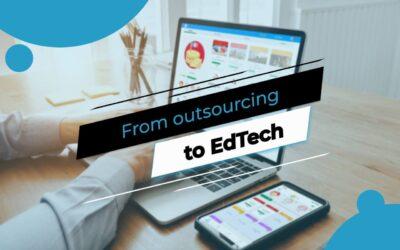 «Du outsource vers EdTech» by Andrey Samoilenko, co-fondateur du SkillzRun