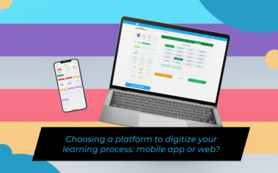 Choosing a platform to digitizeyour learning process: mobile app or web?